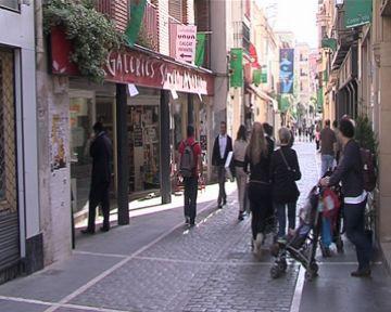 Els locals que tanquen a les tardes i els dissabtes també poden instal·lar-se a les zones comercials