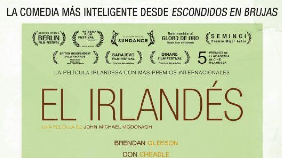 La comèdia 'L'irlandès' és la pel·lícula d'avui del Cicle de Cinema d'Autor
