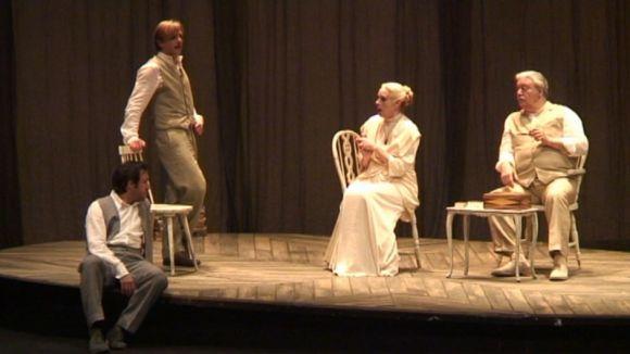 Un instant de la funció al Teatre-Auditori