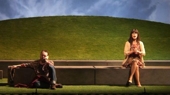 Maribel Verdú i Antonio Molero, una parella impossible al Teatre-Auditori
