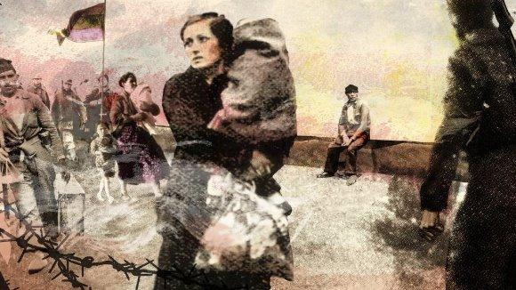 Inauguració d'exposició i presentació de l'àlbum il·lustrat 'El vell al pont'