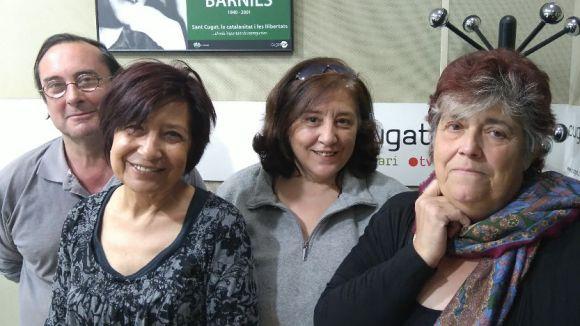 Francesc Codonyés, Teresa Vives, Anna Soriano i Rosa Maria Marqués