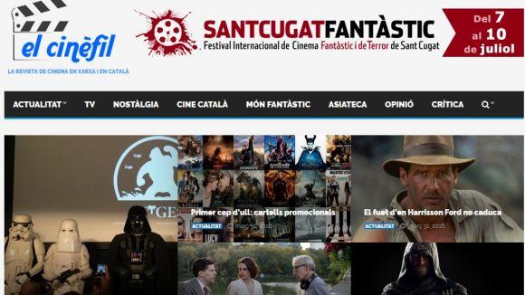 Neix a Sant Cugat El Cinèfil, una web del món del cinema