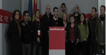 El PSC, que perd 9 diputats, admet que el partit necessita una reforma 'imminent'