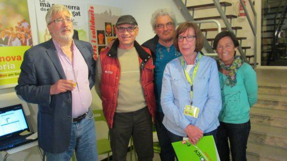 ICV-EUiA celebra la tercera posició i l'augment de vots a Sant Cugat