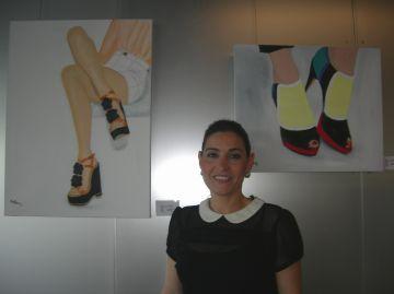 Elena Molina reivindica el paper de la dona a través de la sabata