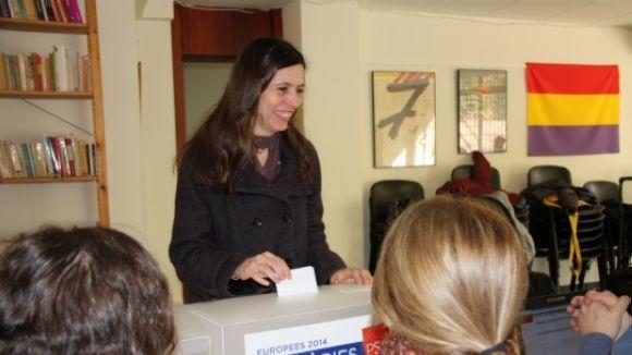 Eliana Camps s'imposa a la ciutat en les primàries del PSC per a les europees