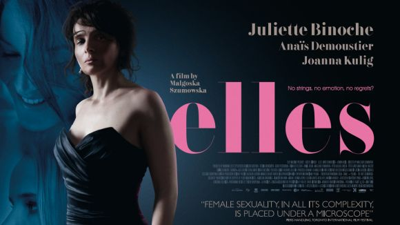 Juliette Binoche és la protagonista del film 'Elles', avui al Cicle de Cinema d'Autor