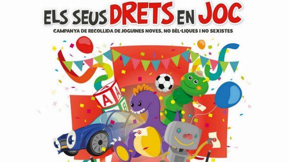Tret de sortida de la campanya 'Els seus drets en joc' per recollir joguines a la Biblioteca de Volpelleres