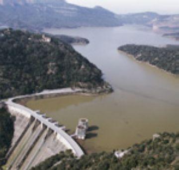Els embassaments del Ter-Llobregat superen el 83% de la seva capacitat
