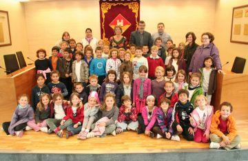 L'escola Ferran i Clua visita l'EMD Valldoreix