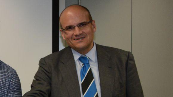 Emilio Gutiérrez, president del Rugby Sant Cugat / Font: Ajuntament de Sant Cugat