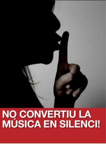 L'Aula de So farà un minut de silenci amb motiu de la campanya 'no convertiu la música en silenci'