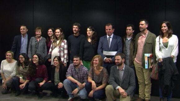 L'últim concurs d'emprenedoria dóna feina a nou persones amb tres projectes
