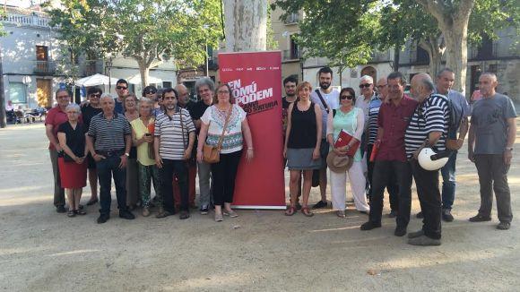Rescat ciutadà i recuperació democràtica, eixos d'En Comú Podem durant la campanya