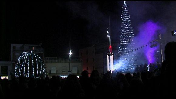 El Nadal s'encén a la ciutat amb 175.000 bombetes