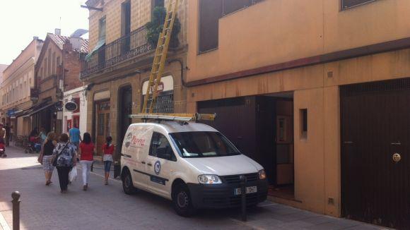 Restablert el subministrament elèctric al carrer de Plana de l'Hospital