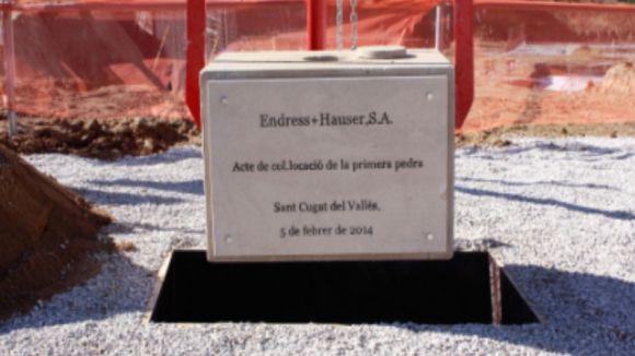 La seu de la companyia Endress+Hauser comença a agafar cos
