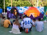 Grafiters, punxa-discos i videoartistes s'han donat cita a la Floresta