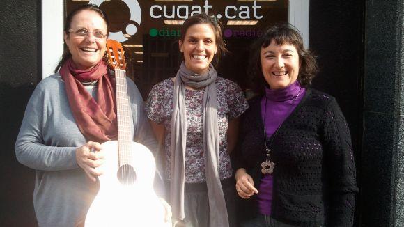 Immaculada Balsells, Clàudia Bruna i Marisol de la Orden a Cugat.cat