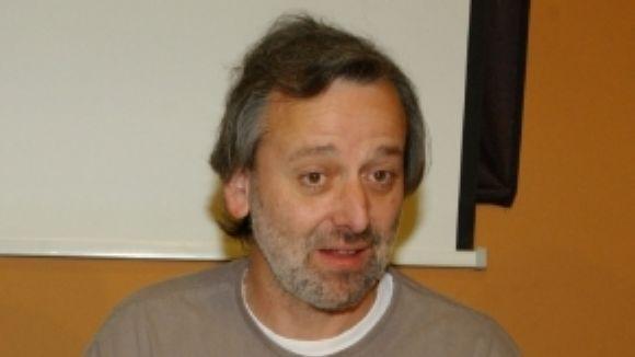 El regidor de l'àrea, Enric Tomàs