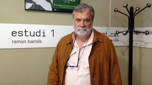 L'expert en formatgeria Enric Canut visita el magazín per parlar d'aquest producte