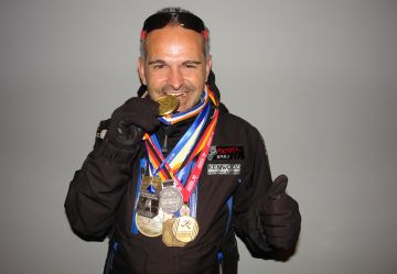 Enric Gómez finalitza 25è a la Marató del Pol Nord