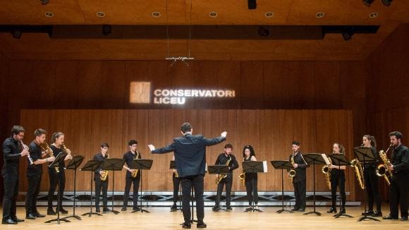 Conferència musicada de l'AEU: Ensemble de Saxòfons del Conservatori del Liceu