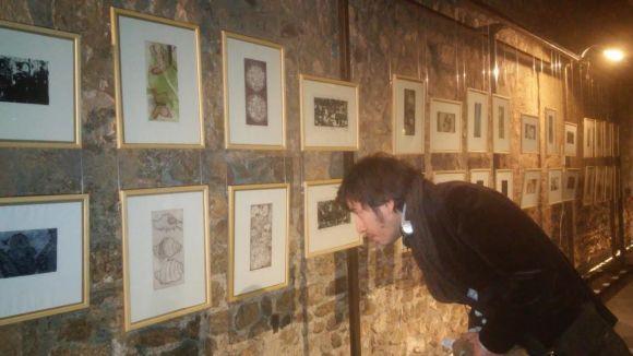 Entretallers recorda Pere Formiguera amb una mostra de gravats al claustre