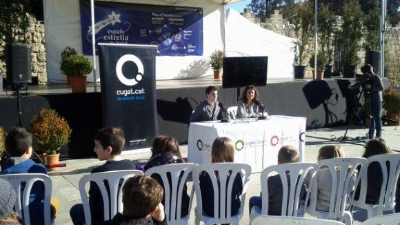 Els infants de la ciutat interroguen Conesa en l'entrevista amb l'alcaldessa