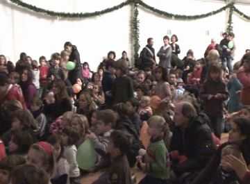 L'Envelat arriba un any més a la ciutat per alegrar les festes de Nadal