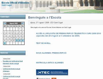 Les preinscripcions a l'Escola Oficial d'Idiomes s'obriran l'1 de setembre