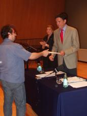 Recoder i Toni Ramon han entregat els diplomes als participants.