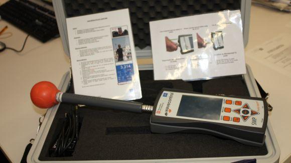 Sant Cugat ofereix un servei per mesurar els camps electromagnètics