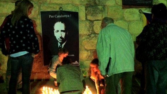 ERC recorda Companys 72 anys després de la seva mort