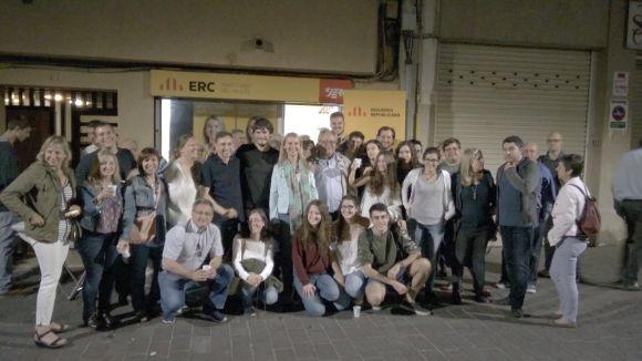 ERC-MES torna al ple de Sant Cugat amb tres regidors