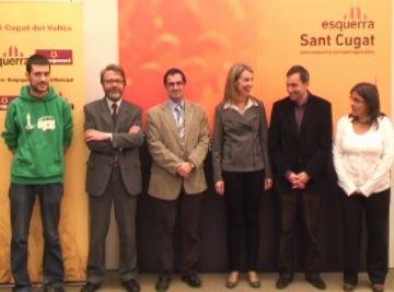 Ingla (ERC) promet més política social i lluita per l'autodeterminació en la seva presentació