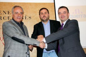 ERC i Reagrupament veuen necessària la coalició per defensar Catalunya al Congrés