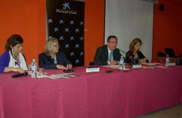 Roda de premsa de presentació dels projectes de l'Obra Social la Caixa