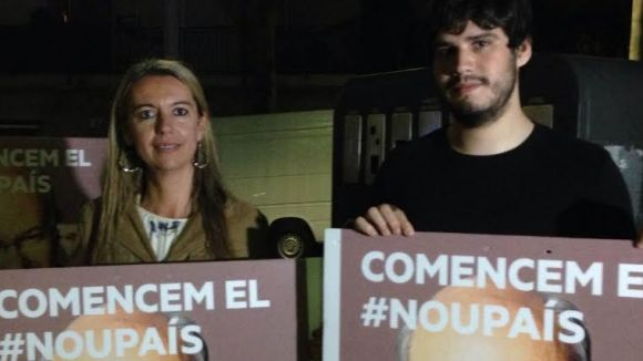 El portaveu republicà, Raül Grangé, a l'esquerra, i el regidor d'ERC Toni Ramon, en una imatge d'arxiu