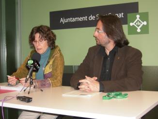 ERC i una plataforma presenten 1.824 signatures a favor del refugi d'animals a la ciutat