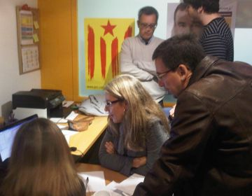 A ERC han patit pel ball del tercer diputat a Girona
