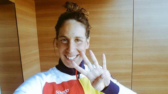 Erika Villaécija: 'L'objectiu als Jocs Olímpics és la medalla sí o sí'