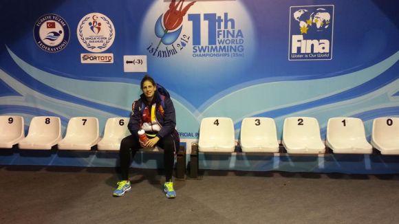 Villaécija, vuitena en els 400 metres lliures en el Mundial de piscina curta d'Istanbul