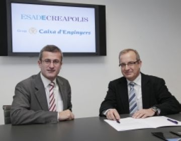 EsadeCrepolis i la Caixa d'Enginyers impulsen el creixement de les empreses de la zona