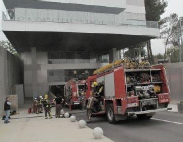 L'edifici d'EsadeCreapolis recupera la normalitat després de ser desallotjat per un petit incendi