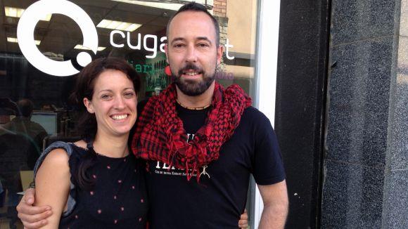 Laia Martínez i Joan Carles Busquets a Cugat.cat