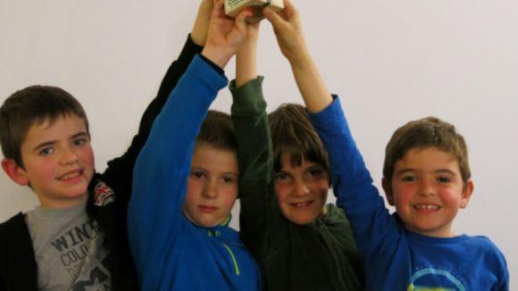 L'escola Ciutat d'Alba, segon al Campionat Català d'Escoles d'escacs en categoria benjamí