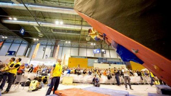 L'escaladora Berta Martín tanca un gran any