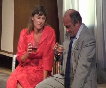 Els actors Francesc Orella i Mònica López